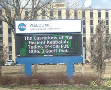 NASA WELCOMES THE KABBALAH CENTRE