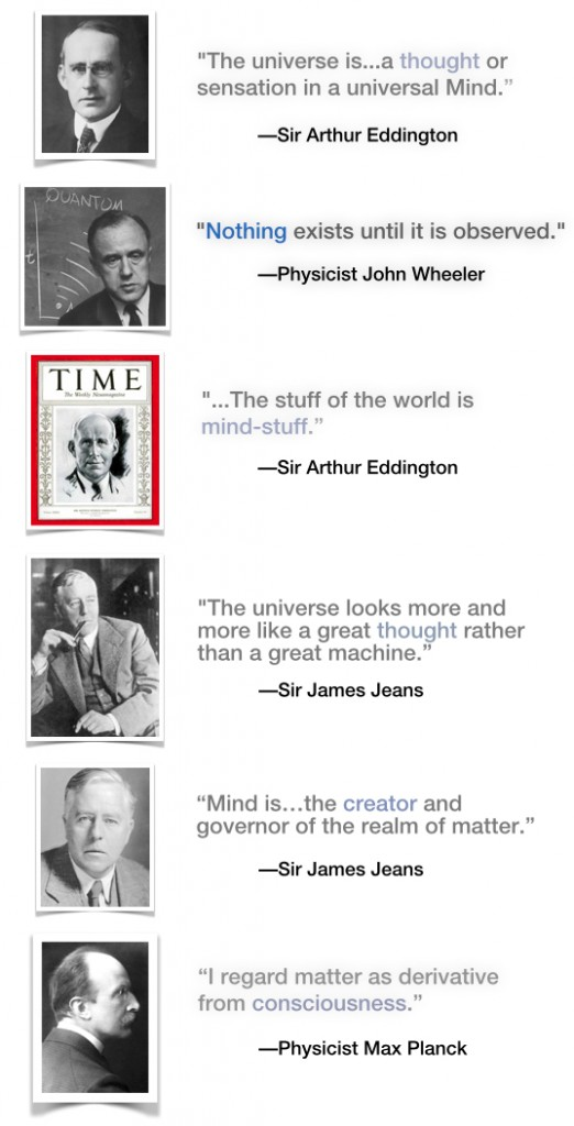 PHYSICISTS QUOTES ON MIND
